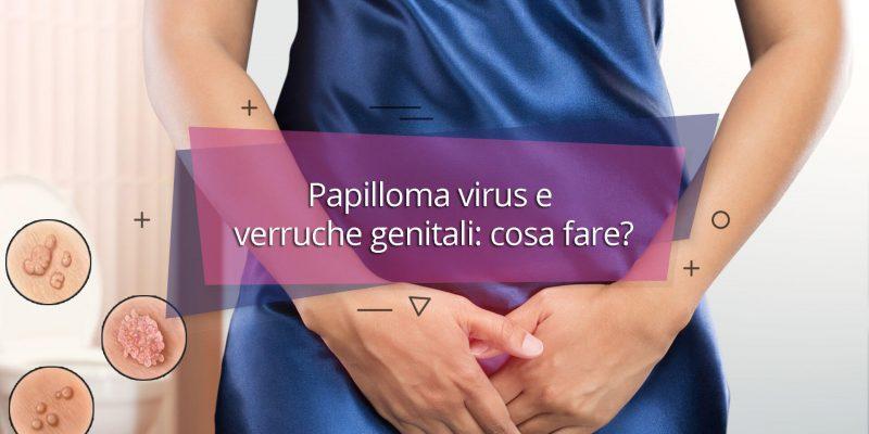Papilloma virus donne verruche